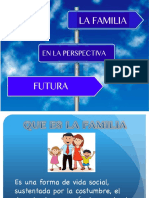 FAMILIA PERSPECTIVA FUTURA