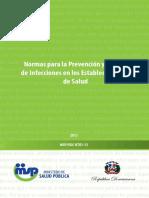 2013 - Normas Control Infeccion
