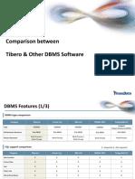 DBMS Comparison