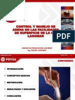 8.- CONTROL Y MANEJO DE ARENA EN LAS FACILIDADES DE SUP U.P. LAGOMAR.ppt