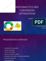 Web Analytics and Conversion Optimization