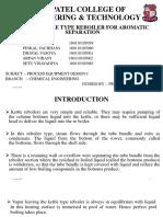 Ped- Kettle Type Reboiler