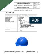Especif Tec 2017 - 001 Casco Azul