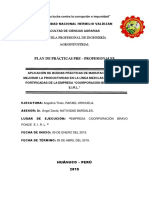 Rotulo de Municipalida de Lauricocha