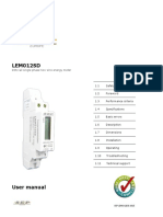 SEP LEM012SD User Manual