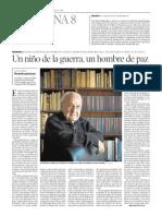 """""""Recuerdos para la paz"""" de José Bada"""