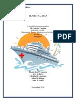 FEASIB HOSPITAL SHIP