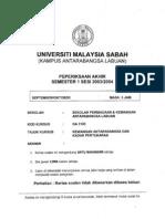 Ga3103 - FOREX & FINANCE Kewangan a Dan Kadar Pertukaran
