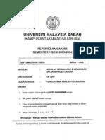 Ga3043 - INVESTMENT ANALYSIS MANAGEMENT PenGurusAn Analisis Pelaburan