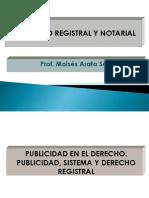 DERECHO REGISTRAL CLASE INAUGURAL 2018-1.ppt