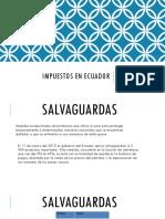 Impuestos en Ecuador m 2