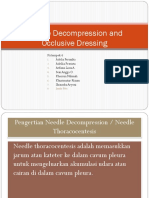 Needle Decompression and Occlusive Dressing