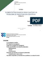 Identificación del Problema de Investigación