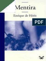 Mentira - Enrique de Heriz
