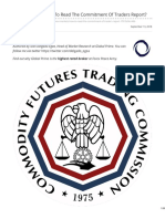 Forex Markets How to Read the Commitment of Traders report
