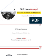 GRE Strategy