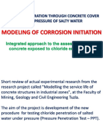 Modelling of chloride penetration