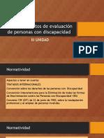 Evaluación en Discapacidad