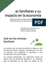 Clase 8 (1) Remesas Familiares y Su Impacto en La Economía