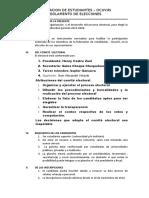 Reglamento de Elecciones.