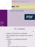 Chapter 15 Amines and Amides Powerpoint l