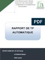Compte Rendu de Tp Automa
