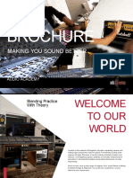 Audio Academy Brochure