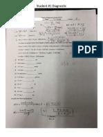 Diagnostic Student 1
