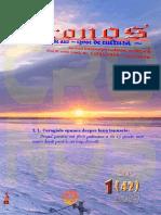 Revista Cronos nr. 1 (42), ianuarie 2019