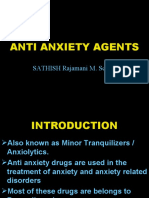 Anti Anxiety Agents