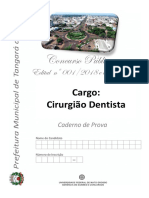 Cirurgião Dentista Ufmt