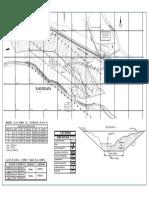 Plano de planta de extracción de agregados