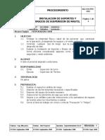 SGI-PA-PFR-032 Instalacion de Soporte y Brazos de Suspension Mastil