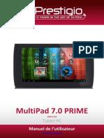 Prestigio Série MultiPad 7-0 Prime - Manuel de l'Utilisateur - FR-PMP3270B