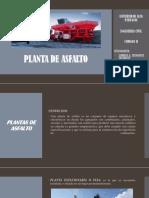 Planta de Asfalto