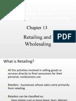 Wholeselling & Retailing