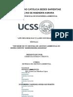 Sistema de Gestion Ambiental en Yambrasbamba-Amazonas by Criseyda Roman