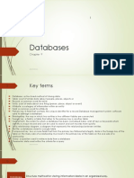 Databases Part 1