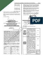 Gaceta Oficial 41613 BCV Tasas de interés aplicables a relaciones de trabajo, TDC y créditos del sector turismo para el mes de marzo 2019