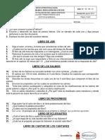 TALLER DE PDE- 7° LIBROS POÉTICOS- 1er PERIODO 2019