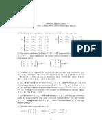 lista matematica aplicada