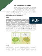 PROBLEMAS DE APRENDIZAJE Y LOS ALUMNOS.pdf