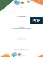 Fundamentos de La Administración Tarea 1