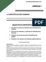 Unidad II Identificación Papiloscópica