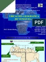 Ubicación de venezuela