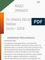 1- EMBARAZO PROLONGADO