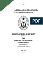 EVALUACIÓN DE ESCAMAS DE PESCADO COMO ADSORBENTE DE METALES PESADOS DE AGUA RESIDUAL.pdf