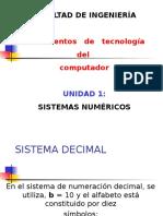 Unidad 1- Sistema Numérico