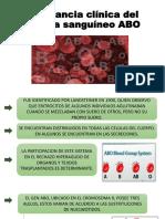 Diapos Sistema Sanguíneo ABO