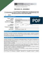 CAS 36 Coordinador Administracion y Recursos Educativos Para Zonas Urbanas